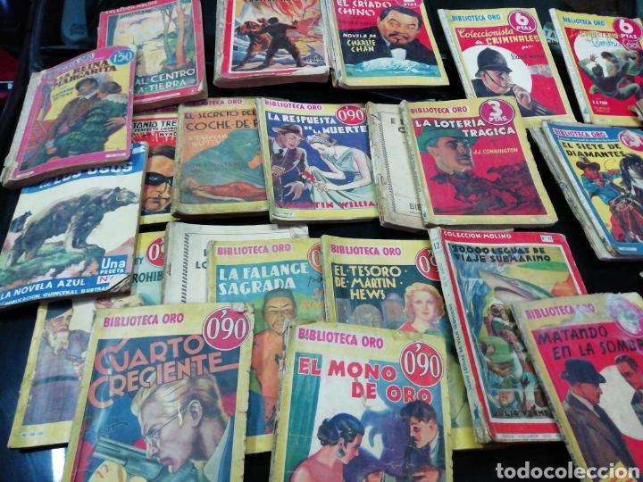 28 NOVELAS DE LA BIBLIOTECA DE ORO AÑOS 33,34,35,36,39, 40,41Y3 DEL47 (Libros Antiguos, Raros y Curiosos - Literatura Infantil y Juvenil - Novela)