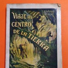 Libros antiguos: VIAJE AL CENTRO DE LA TIERRA - JULIO VERNE - AÑO 1936 - EDITORIAL RAMON SOPENA S.A ..L2460. Lote 223086690