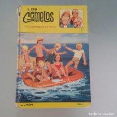 Libros antiguos: LIBRO LOS GEMELOS Y EL SECRETO DE LA PLAYA DE LAURA LEE HOPE. ED. TORAY 2ª EDICIÓN 1976. Lote 224650652
