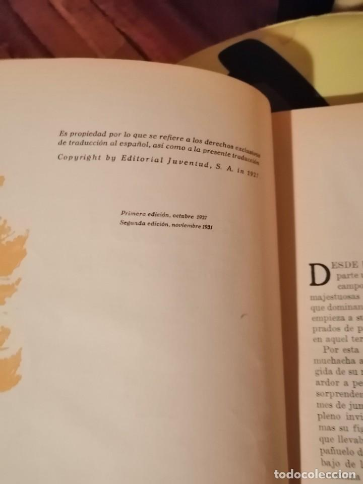 Libros antiguos: JUANA SPYRI :HEIDI (2º EDICION 1931) Y OTRA VEZ HEIDI (1ª EDICION 1929) - Foto 3 - 225136343
