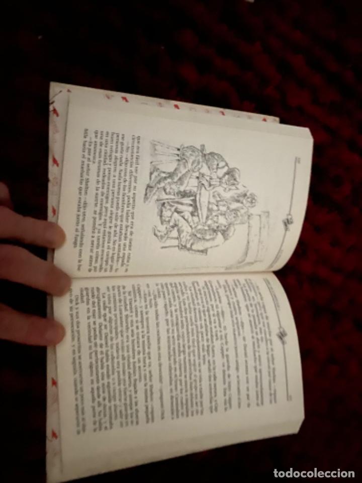 Libros antiguos: STEVENSON: LA FLECHA NEGRA, (ANAYA, TUS LIBROS, 104, 1ª, 1991). - Foto 8 - 225391595