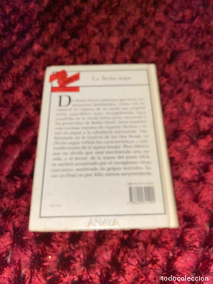Libros antiguos: STEVENSON: LA FLECHA NEGRA, (ANAYA, TUS LIBROS, 104, 1ª, 1991). - Foto 11 - 225391595