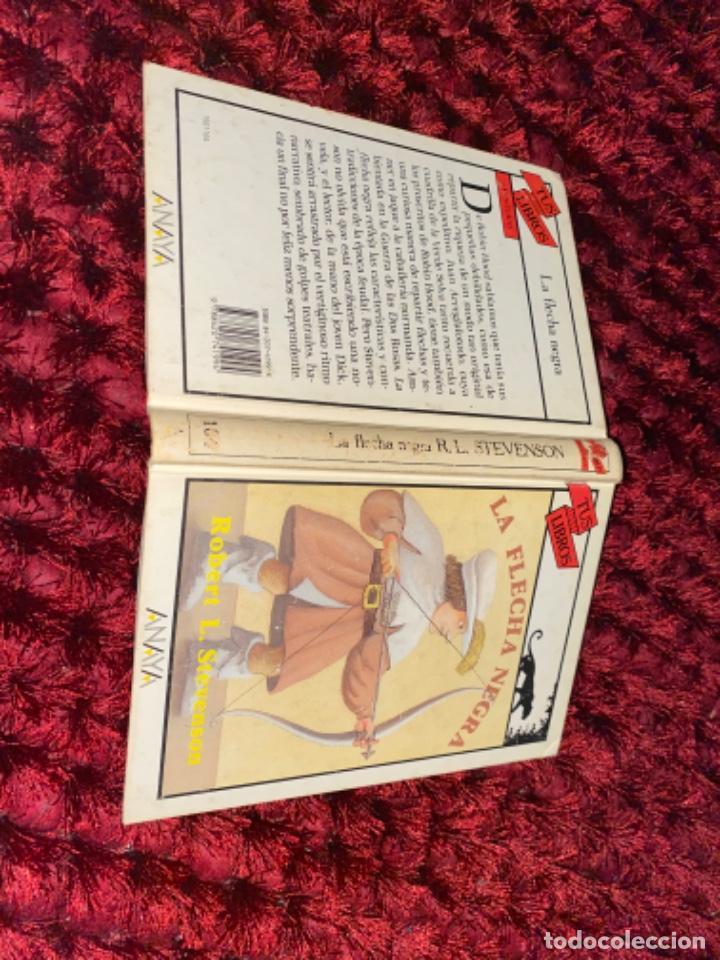 STEVENSON: LA FLECHA NEGRA, (ANAYA, TUS LIBROS, 104, 1ª, 1991). (Libros Antiguos, Raros y Curiosos - Literatura Infantil y Juvenil - Novela)