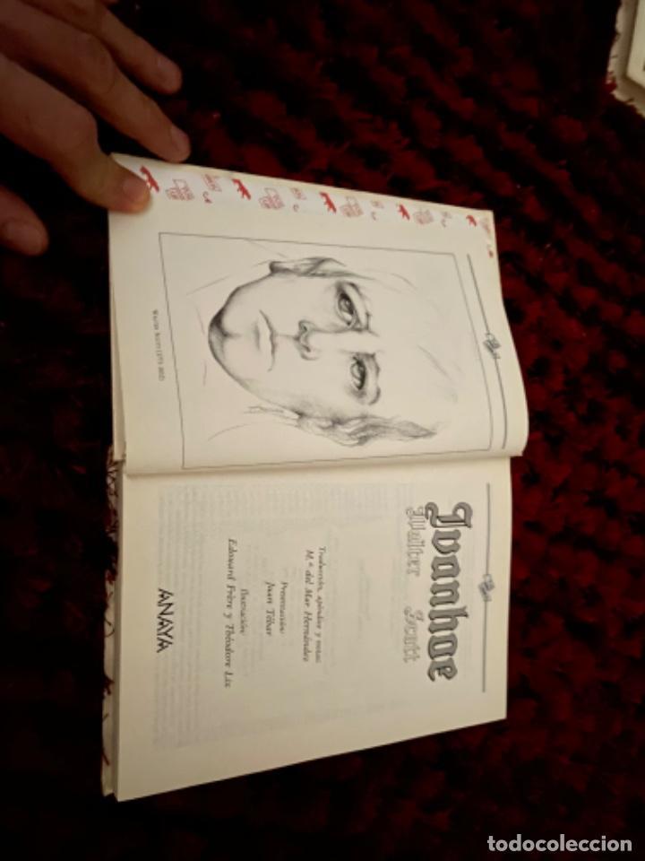 Libros antiguos: IVANHOE.WALTER SCOTT.TUS LIBROS .ANAYA.1ª.-1990 - Foto 2 - 225391765