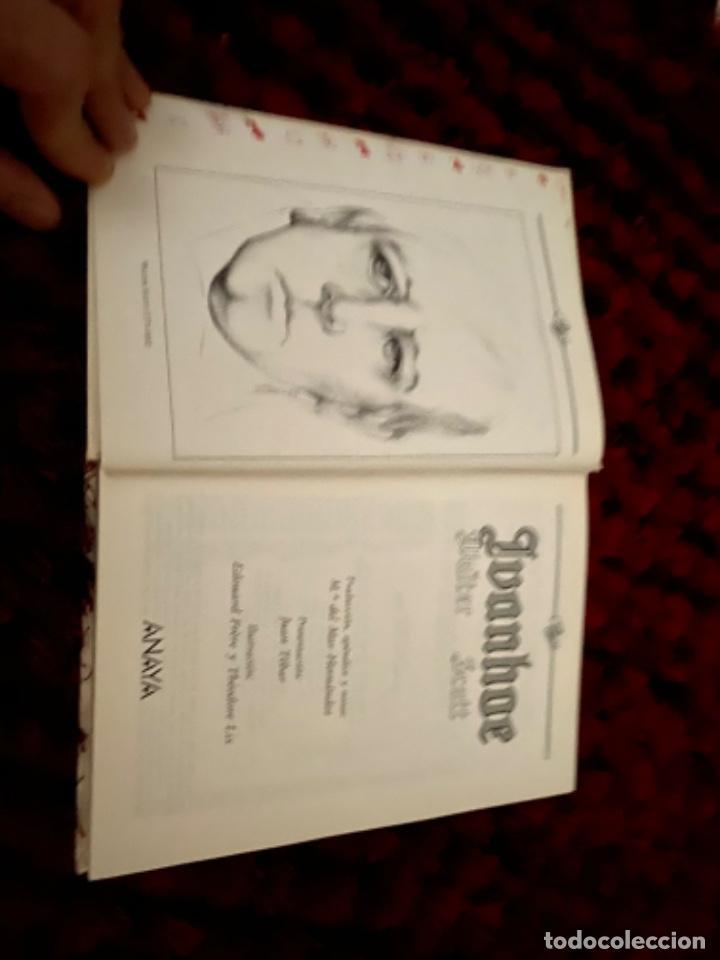 Libros antiguos: IVANHOE.WALTER SCOTT.TUS LIBROS .ANAYA.1ª.-1990 - Foto 3 - 225391765