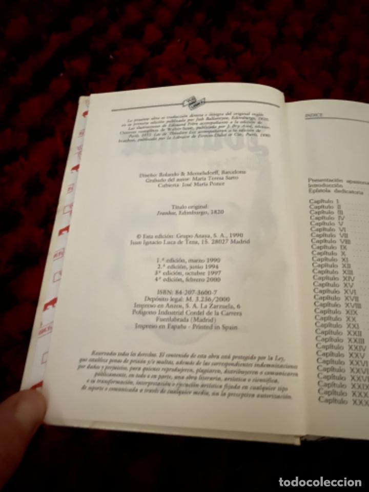 Libros antiguos: IVANHOE.WALTER SCOTT.TUS LIBROS .ANAYA.1ª.-1990 - Foto 4 - 225391765
