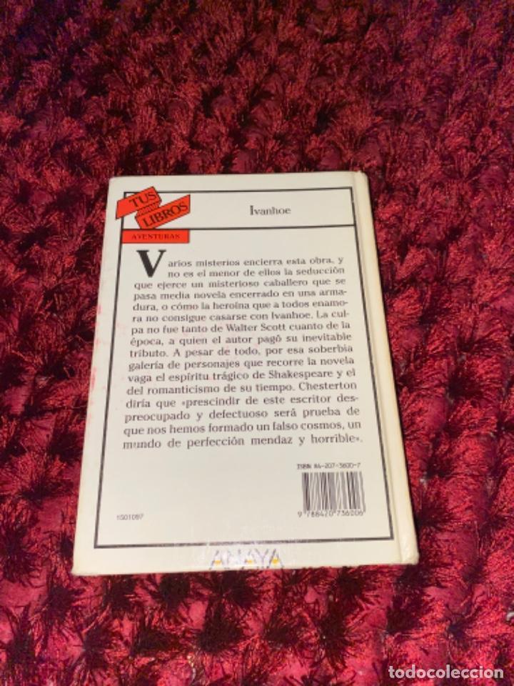 Libros antiguos: IVANHOE.WALTER SCOTT.TUS LIBROS .ANAYA.1ª.-1990 - Foto 7 - 225391765