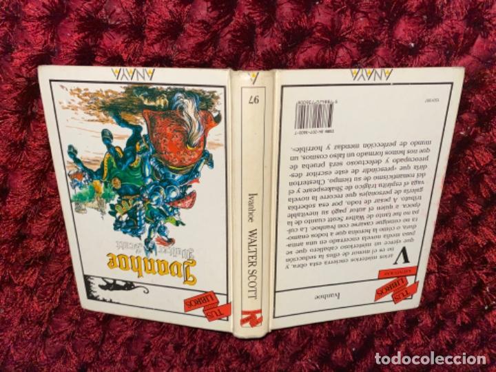 Libros antiguos: IVANHOE.WALTER SCOTT.TUS LIBROS .ANAYA.1ª.-1990 - Foto 8 - 225391765
