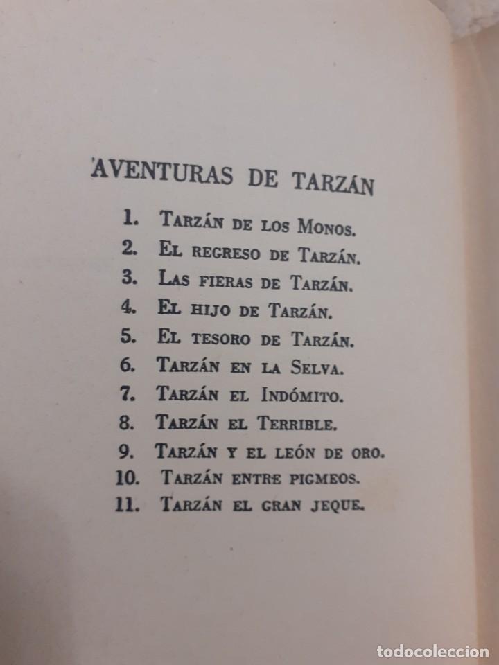 Libros antiguos: lote de 11 novelas de la coleccion completa de las Aventuras de tarzan de los años 60.Envio gratis - Foto 2 - 226215725