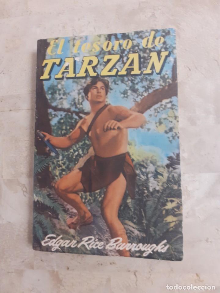 Libros antiguos: lote de 11 novelas de la coleccion completa de las Aventuras de tarzan de los años 60.Envio gratis - Foto 3 - 226215725