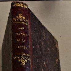 Libros antiguos: LAS VELADAS DE LA QUINTA - CONDESA DE GENLIS - SOCIEDAD EDITORIAL LA MARAVILLA AÑO 1864. Lote 228447472