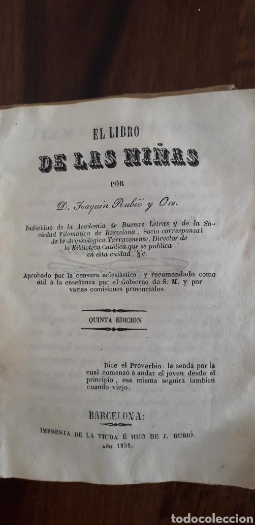 EL LIBRO DE LAS NIÑAS (Libros Antiguos, Raros y Curiosos - Literatura Infantil y Juvenil - Novela)