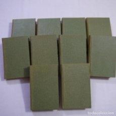 Libros antiguos: LOTE DE 10 NOVELAS DE TARZAN - EDGAR RICE BURROUGHS - GUSTAVO GILI EDITOR - 1927 Y 1928. Lote 231655910