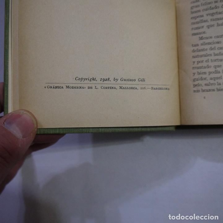 Libros antiguos: LOTE DE 10 NOVELAS DE TARZAN - EDGAR RICE BURROUGHS - GUSTAVO GILI EDITOR - 1927 y 1928 - Foto 3 - 231655910