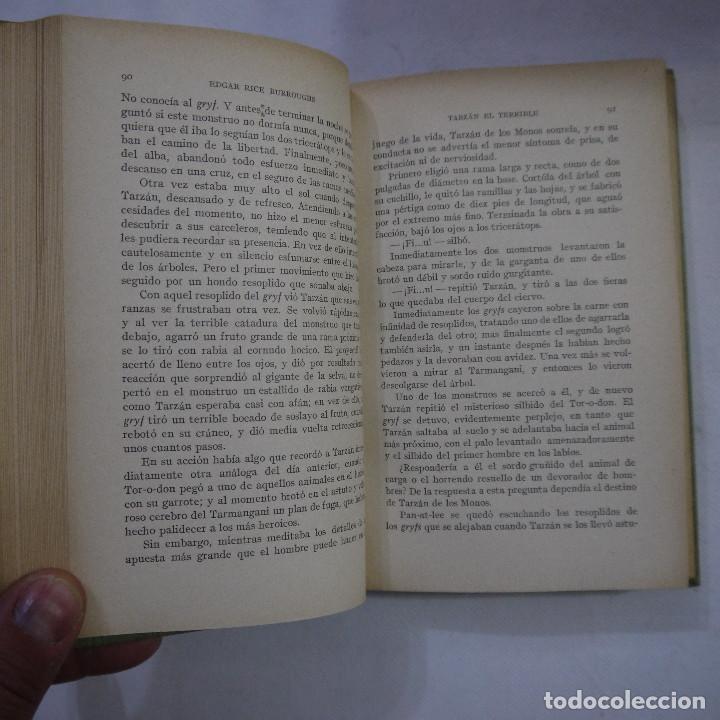 Libros antiguos: LOTE DE 10 NOVELAS DE TARZAN - EDGAR RICE BURROUGHS - GUSTAVO GILI EDITOR - 1927 y 1928 - Foto 4 - 231655910