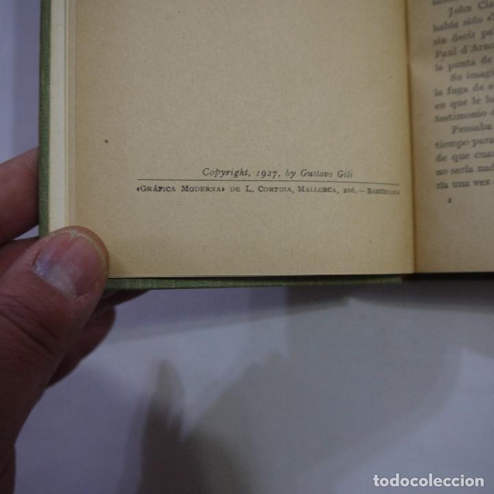 Libros antiguos: LOTE DE 10 NOVELAS DE TARZAN - EDGAR RICE BURROUGHS - GUSTAVO GILI EDITOR - 1927 y 1928 - Foto 6 - 231655910