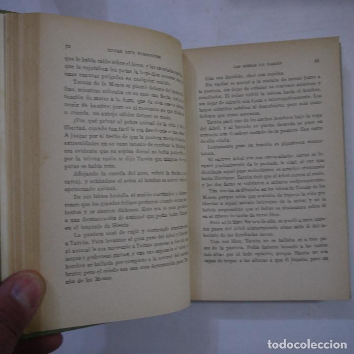 Libros antiguos: LOTE DE 10 NOVELAS DE TARZAN - EDGAR RICE BURROUGHS - GUSTAVO GILI EDITOR - 1927 y 1928 - Foto 7 - 231655910
