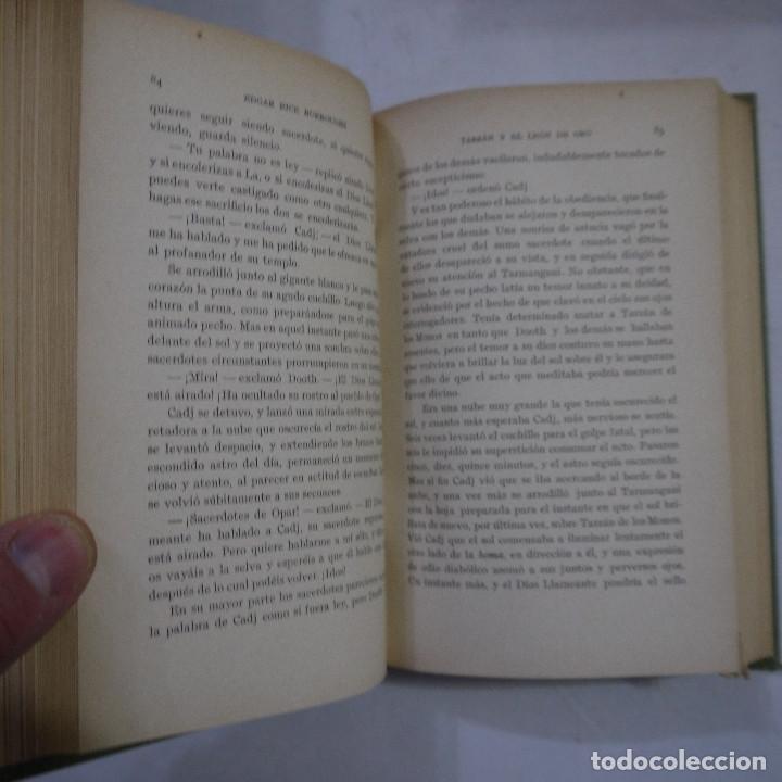 Libros antiguos: LOTE DE 10 NOVELAS DE TARZAN - EDGAR RICE BURROUGHS - GUSTAVO GILI EDITOR - 1927 y 1928 - Foto 10 - 231655910