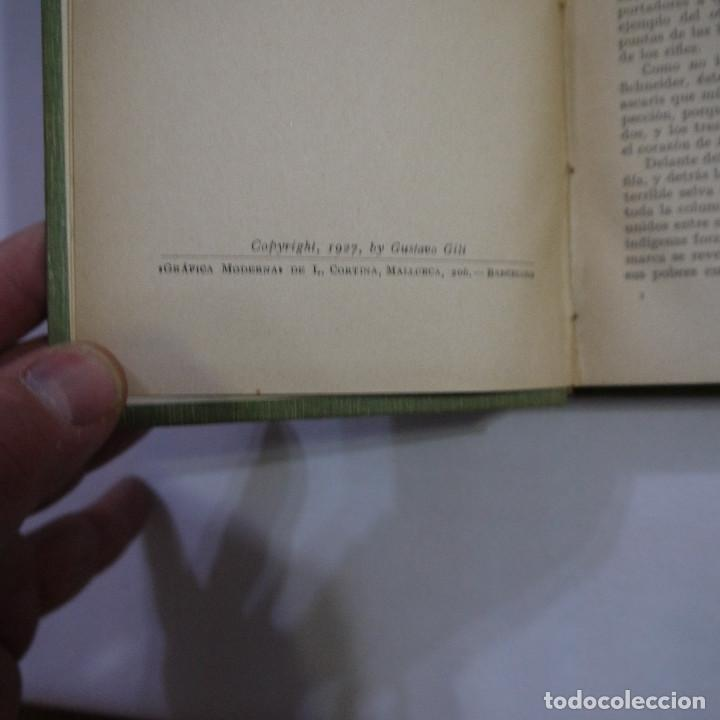 Libros antiguos: LOTE DE 10 NOVELAS DE TARZAN - EDGAR RICE BURROUGHS - GUSTAVO GILI EDITOR - 1927 y 1928 - Foto 12 - 231655910