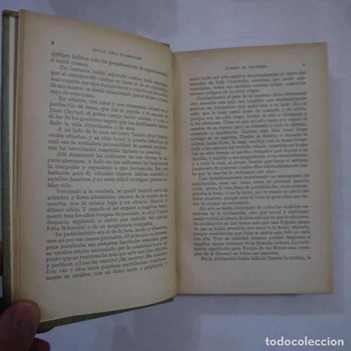 Libros antiguos: LOTE DE 10 NOVELAS DE TARZAN - EDGAR RICE BURROUGHS - GUSTAVO GILI EDITOR - 1927 y 1928 - Foto 13 - 231655910