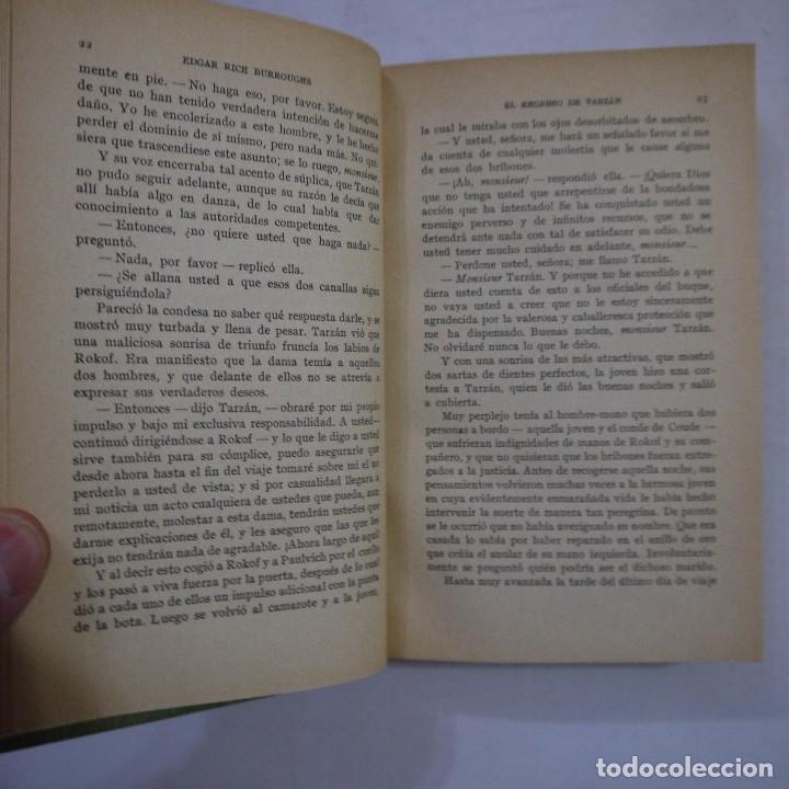 Libros antiguos: LOTE DE 10 NOVELAS DE TARZAN - EDGAR RICE BURROUGHS - GUSTAVO GILI EDITOR - 1927 y 1928 - Foto 16 - 231655910