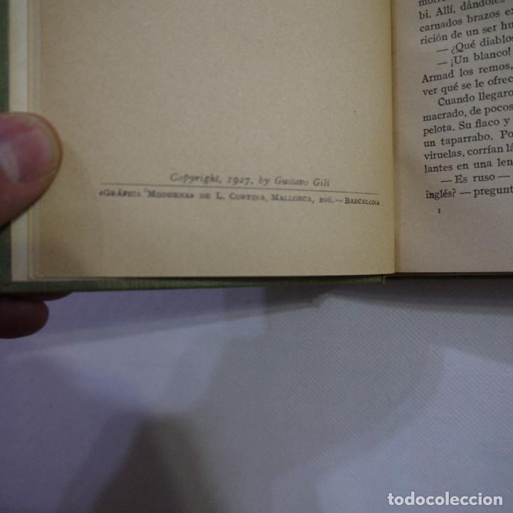 Libros antiguos: LOTE DE 10 NOVELAS DE TARZAN - EDGAR RICE BURROUGHS - GUSTAVO GILI EDITOR - 1927 y 1928 - Foto 18 - 231655910