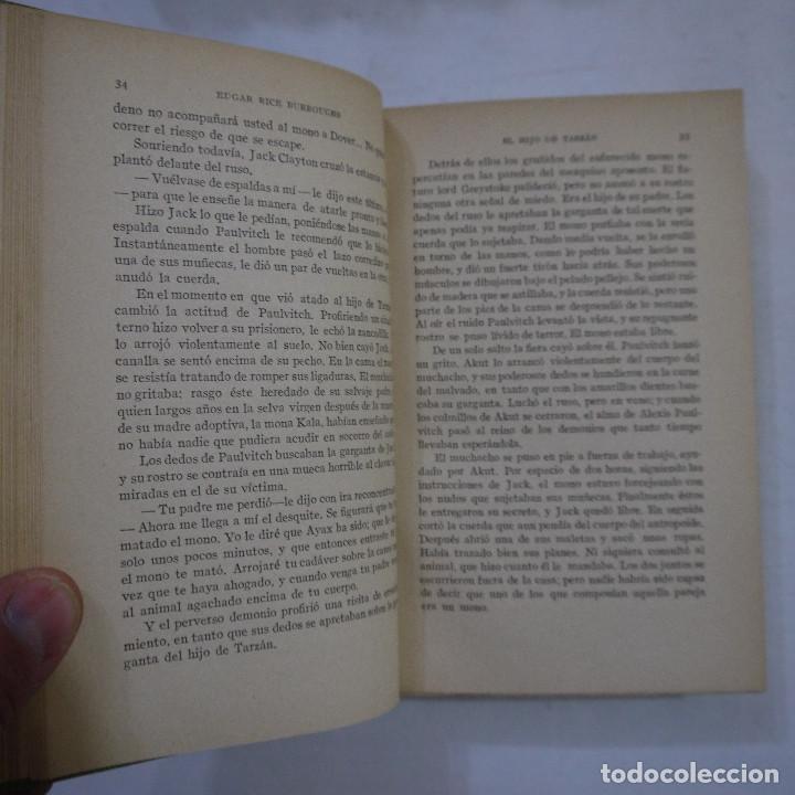Libros antiguos: LOTE DE 10 NOVELAS DE TARZAN - EDGAR RICE BURROUGHS - GUSTAVO GILI EDITOR - 1927 y 1928 - Foto 19 - 231655910