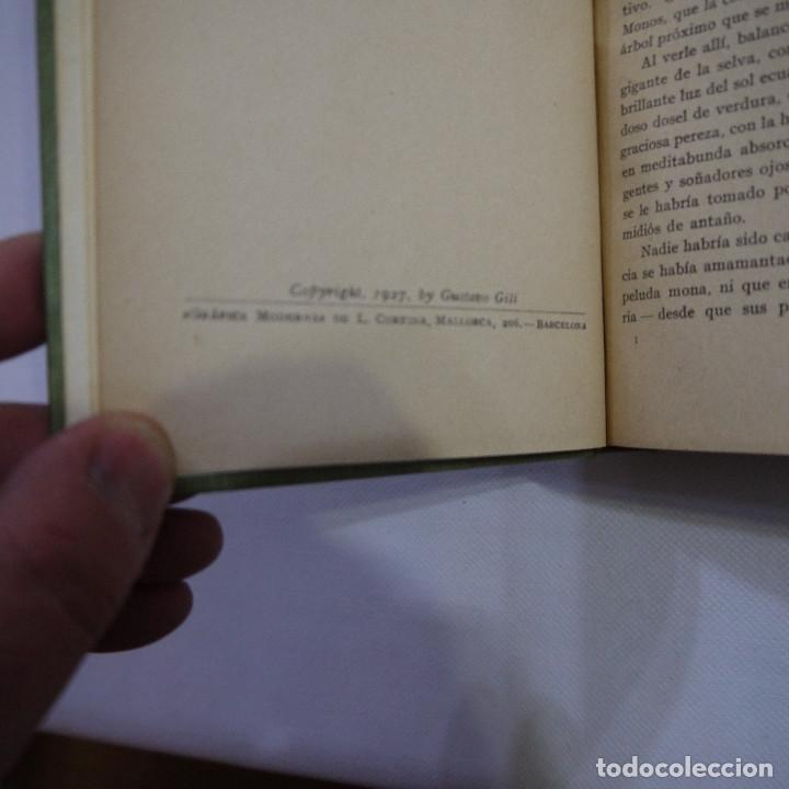 Libros antiguos: LOTE DE 10 NOVELAS DE TARZAN - EDGAR RICE BURROUGHS - GUSTAVO GILI EDITOR - 1927 y 1928 - Foto 21 - 231655910
