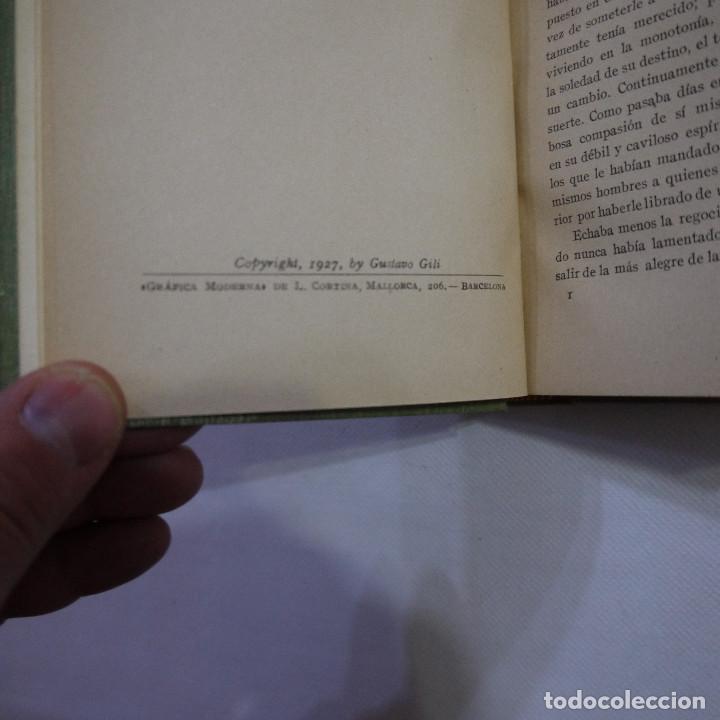 Libros antiguos: LOTE DE 10 NOVELAS DE TARZAN - EDGAR RICE BURROUGHS - GUSTAVO GILI EDITOR - 1927 y 1928 - Foto 24 - 231655910