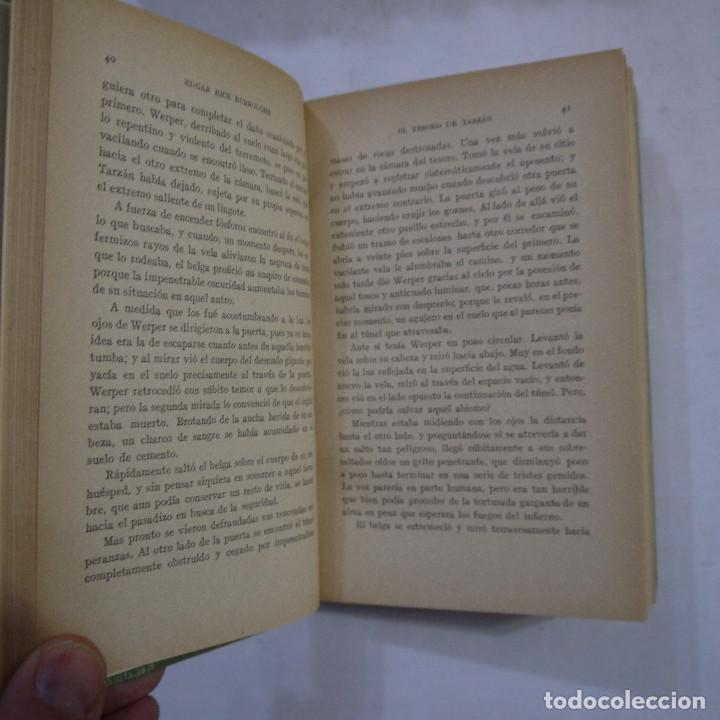Libros antiguos: LOTE DE 10 NOVELAS DE TARZAN - EDGAR RICE BURROUGHS - GUSTAVO GILI EDITOR - 1927 y 1928 - Foto 25 - 231655910