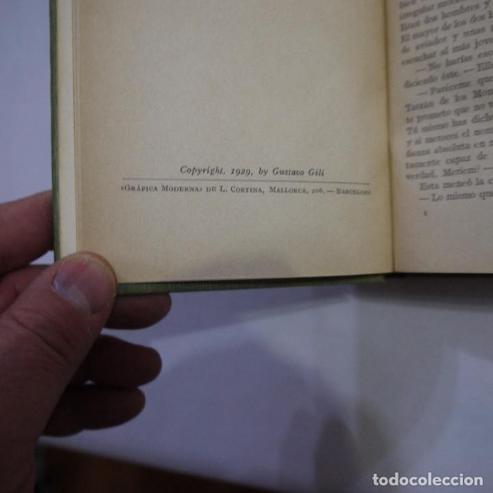 Libros antiguos: LOTE DE 10 NOVELAS DE TARZAN - EDGAR RICE BURROUGHS - GUSTAVO GILI EDITOR - 1927 y 1928 - Foto 27 - 231655910