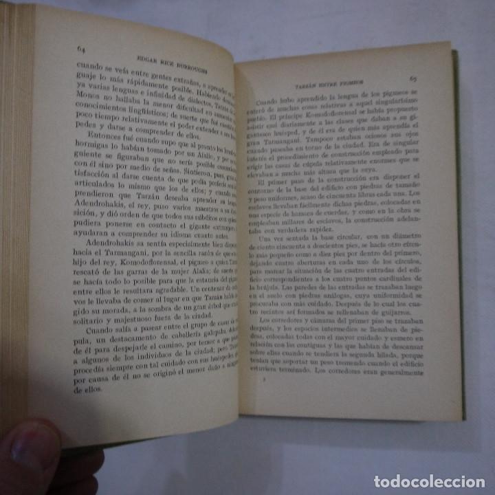 Libros antiguos: LOTE DE 10 NOVELAS DE TARZAN - EDGAR RICE BURROUGHS - GUSTAVO GILI EDITOR - 1927 y 1928 - Foto 28 - 231655910