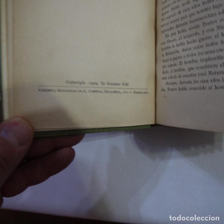 Libros antiguos: LOTE DE 10 NOVELAS DE TARZAN - EDGAR RICE BURROUGHS - GUSTAVO GILI EDITOR - 1927 y 1928 - Foto 30 - 231655910