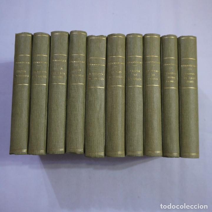 Libros antiguos: LOTE DE 10 NOVELAS DE TARZAN - EDGAR RICE BURROUGHS - GUSTAVO GILI EDITOR - 1927 y 1928 - Foto 32 - 231655910