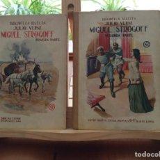 Libros antiguos: MIGUEL STROGOFF - JULIO VERNE. Lote 232123415