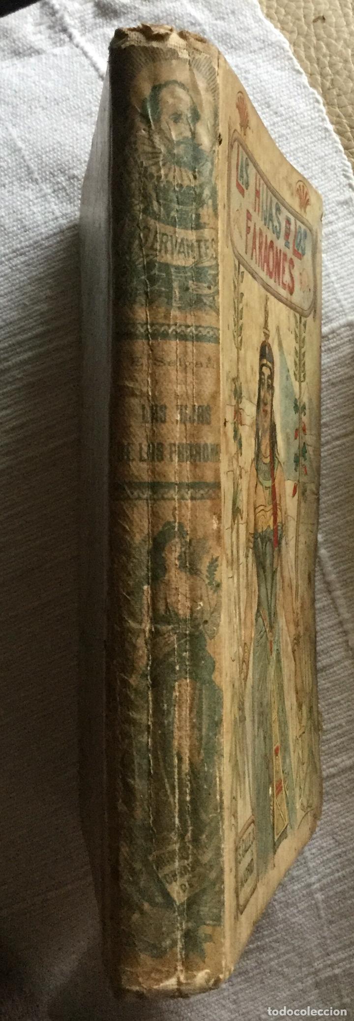 Libros antiguos: LAS HIJAS DE LOS FARAONES - S. CALLEJA - EMILIO SALGARI - 252p. 17x12 - Foto 5 - 234739700