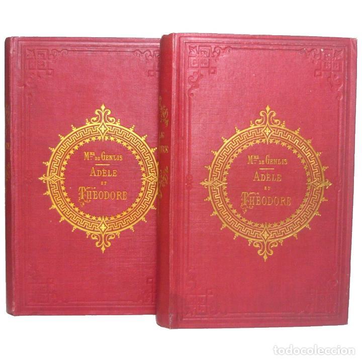 1850 - ADELA Y TEODORO O CARTAS SOBRE LA EDUCACIÓN - ILUSTRADO CON GRABADOS - ENCUADERNACIÓN, S. XIX (Libros Antiguos, Raros y Curiosos - Literatura Infantil y Juvenil - Novela)