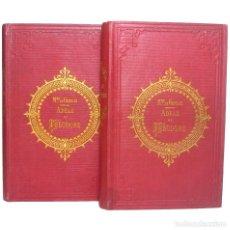 Libros antiguos: 1850 - ADELA Y TEODORO O CARTAS SOBRE LA EDUCACIÓN - ILUSTRADO CON GRABADOS - ENCUADERNACIÓN, S. XIX. Lote 235382530