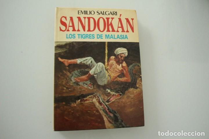 SANDOKAN LOS TIGRES DE MALASIA (Libros Antiguos, Raros y Curiosos - Literatura Infantil y Juvenil - Novela)