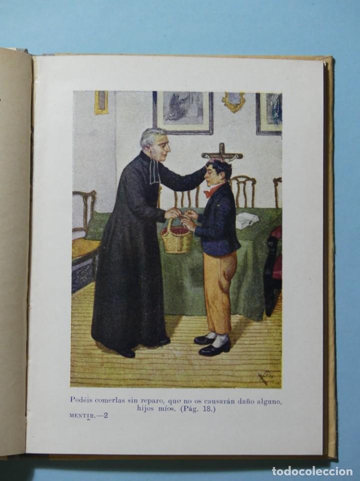 Libros antiguos: BIBLIOTECA SELECTA - POR MENTIR - EDITORIAL SOPENA 1935 - ILUSTRACIONES B/N Y COLOR - EXCELENTE VER - Foto 3 - 236061720