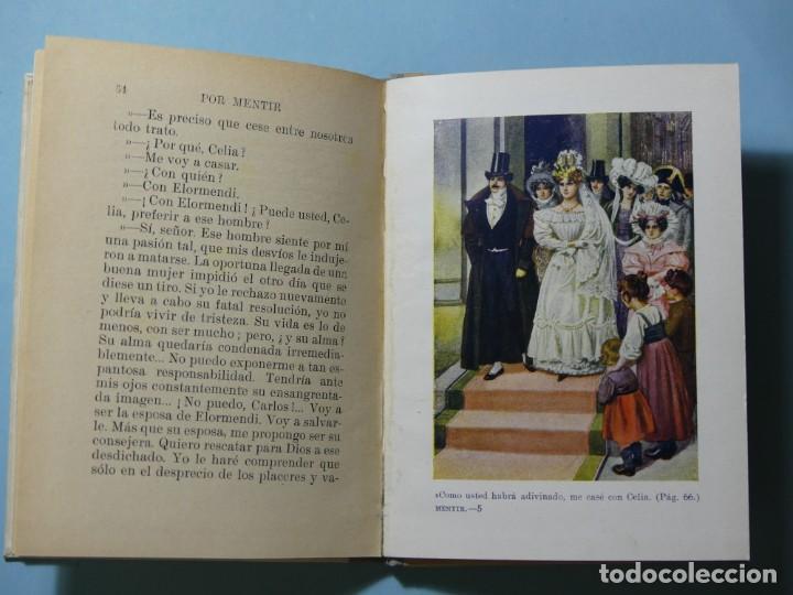 Libros antiguos: BIBLIOTECA SELECTA - POR MENTIR - EDITORIAL SOPENA 1935 - ILUSTRACIONES B/N Y COLOR - EXCELENTE VER - Foto 7 - 236061720
