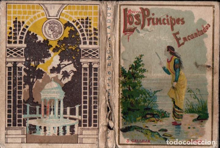 LOS PRÍNCIPES ENCANTADOS (CALLEJA) (Libros Antiguos, Raros y Curiosos - Literatura Infantil y Juvenil - Novela)