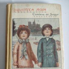 Libros antiguos: LOS DOS ILUSOS - CONDESA DE SEGUR - 1927 - 196P.19X13. Lote 239585155