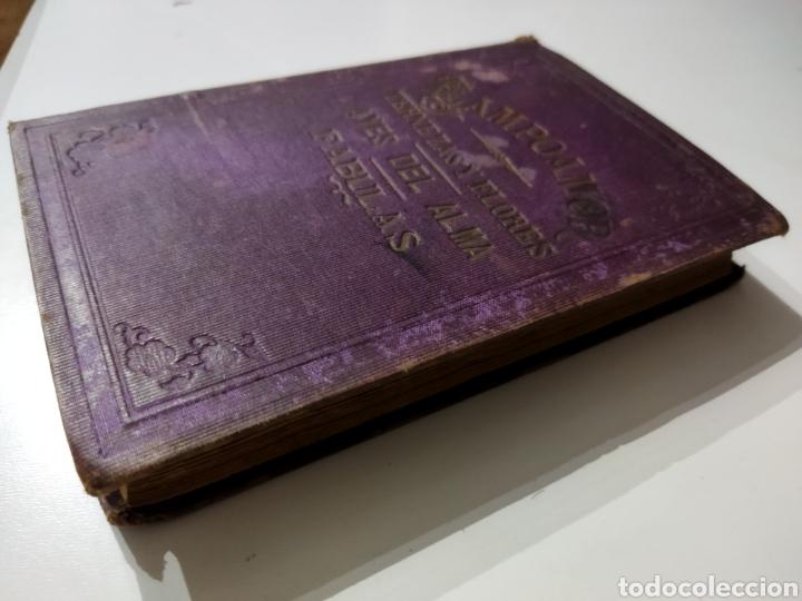 Libros antiguos: Poesías y Fabulas.Ternezas y flores .Áyres de Alma .Fabulas .Ramón de Campoamor 1874 - Foto 2 - 244446945