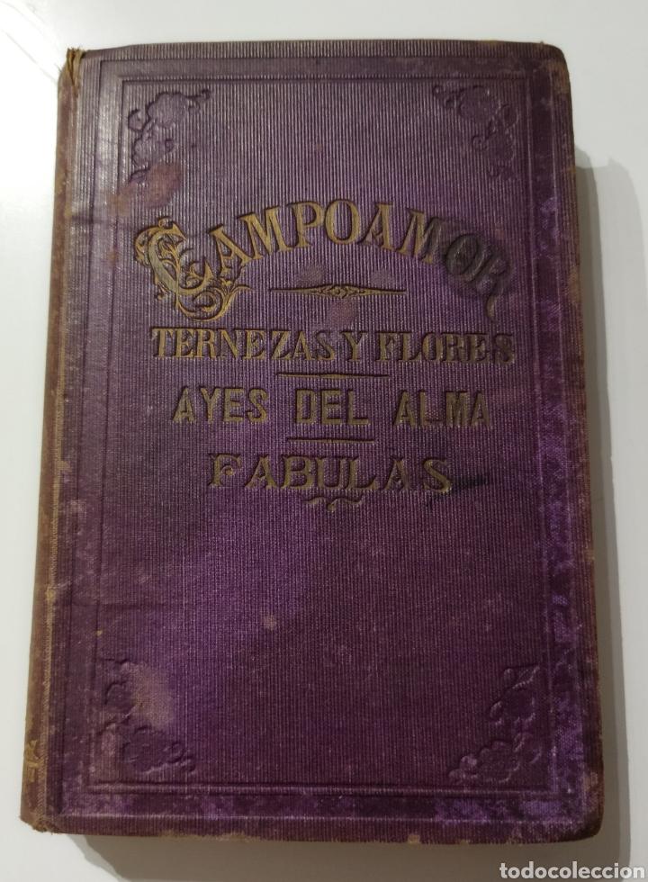 Libros antiguos: Poesías y Fabulas.Ternezas y flores .Áyres de Alma .Fabulas .Ramón de Campoamor 1874 - Foto 5 - 244446945