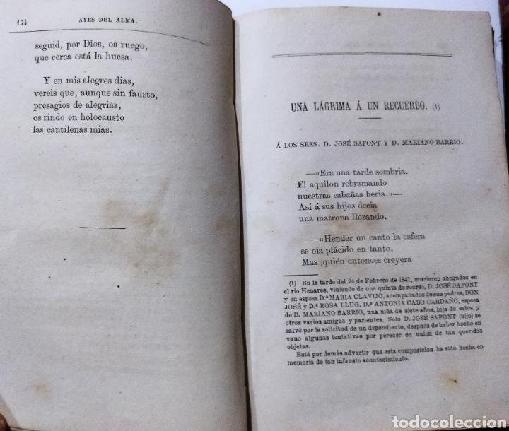 Libros antiguos: Poesías y Fabulas.Ternezas y flores .Áyres de Alma .Fabulas .Ramón de Campoamor 1874 - Foto 8 - 244446945