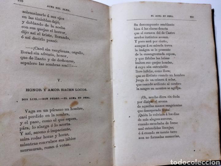 Libros antiguos: Poesías y Fabulas.Ternezas y flores .Áyres de Alma .Fabulas .Ramón de Campoamor 1874 - Foto 10 - 244446945