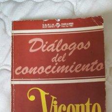 Libros antiguos: LIBRO DIALOGOS DEL CONOCIMIENTO - VICENTE ALEIXANDRE - 1978 PAG 155. Lote 245433760