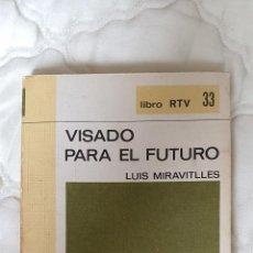 Libros antiguos: LIBRO VISADO PARA EL FUTURO - SALVAT 1969 PAG 185. Lote 245433770