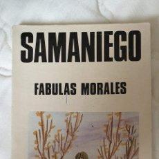 Libros antiguos: LIBRO FABULAS MORALES SAMANIEGO. Lote 245434155